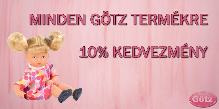 Götz babák és kiegészítők 10% kedvezménnyel 189b975537