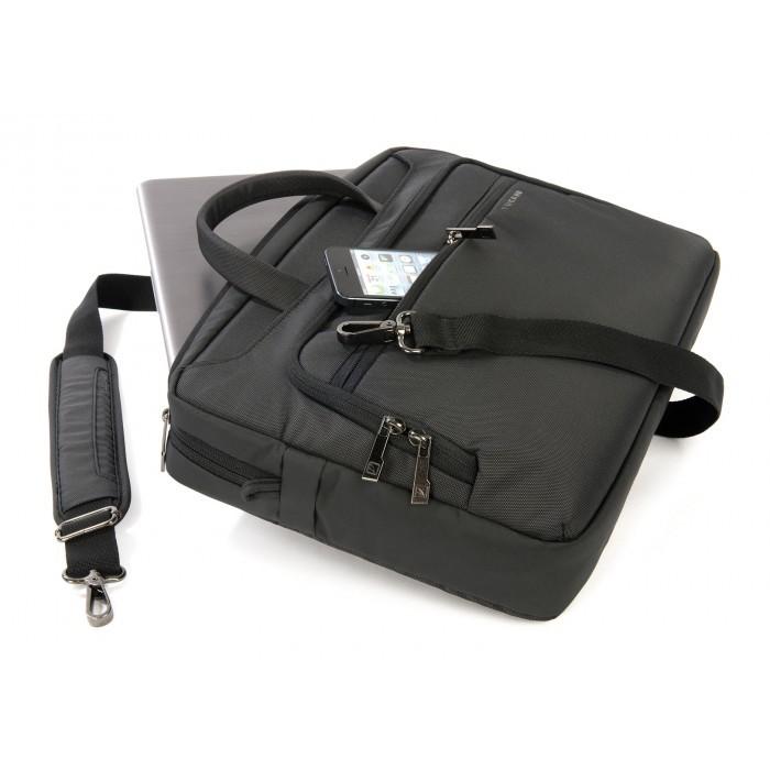 "c0b5aabe6c3c Tucano The New Work-Out MacBook 15"" - notebook táska (fekete)"