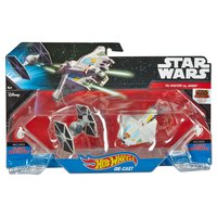 Hot Wheels Star Wars TIE fighter és Ghost űrhajó szett, 2 db-os (Mattel DLP58 CGW90)