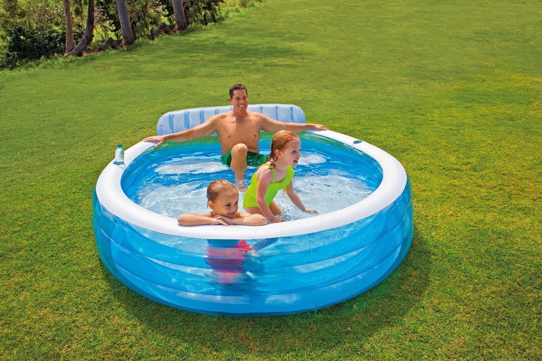 Intex Swim Center Family Lounge háttámlás medence 41b0263b34